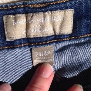 Banana Republic Jeans - BR slim boot cut jeans